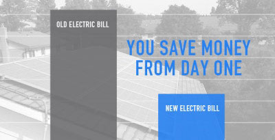 Save Money with Home Solar power from Day One