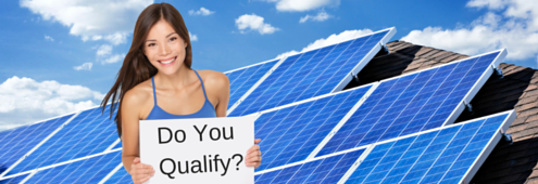 Qualify for Zero Down Home Solar Power