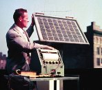 Solar Fun Facts - Bell Laboratories 1954 solar panels