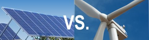 Home Solar Power vs. Wind Power